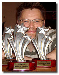 Chris With Awards