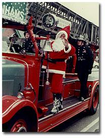 Chris as Santa